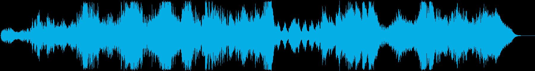 壮大?メルヘンまで展開のあるオーケストラの再生済みの波形