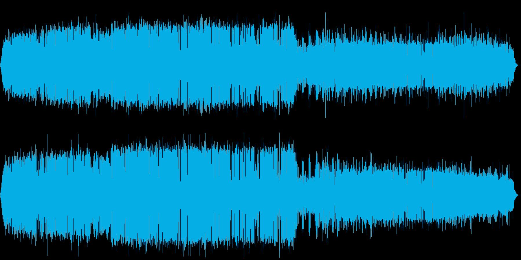 北海道音景色 夏夜の静寂・虫の声 その3の再生済みの波形