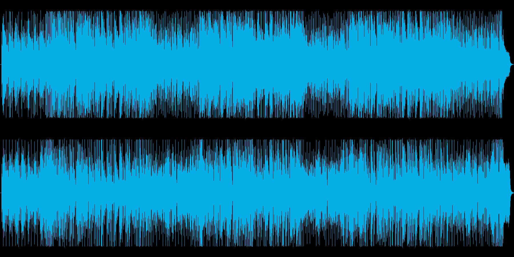 軽快なピアノインスト、さわやかな季節感…の再生済みの波形