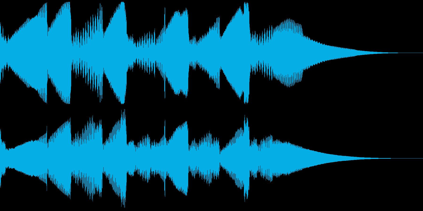 5秒CM用、ほのぼの家族verD の再生済みの波形