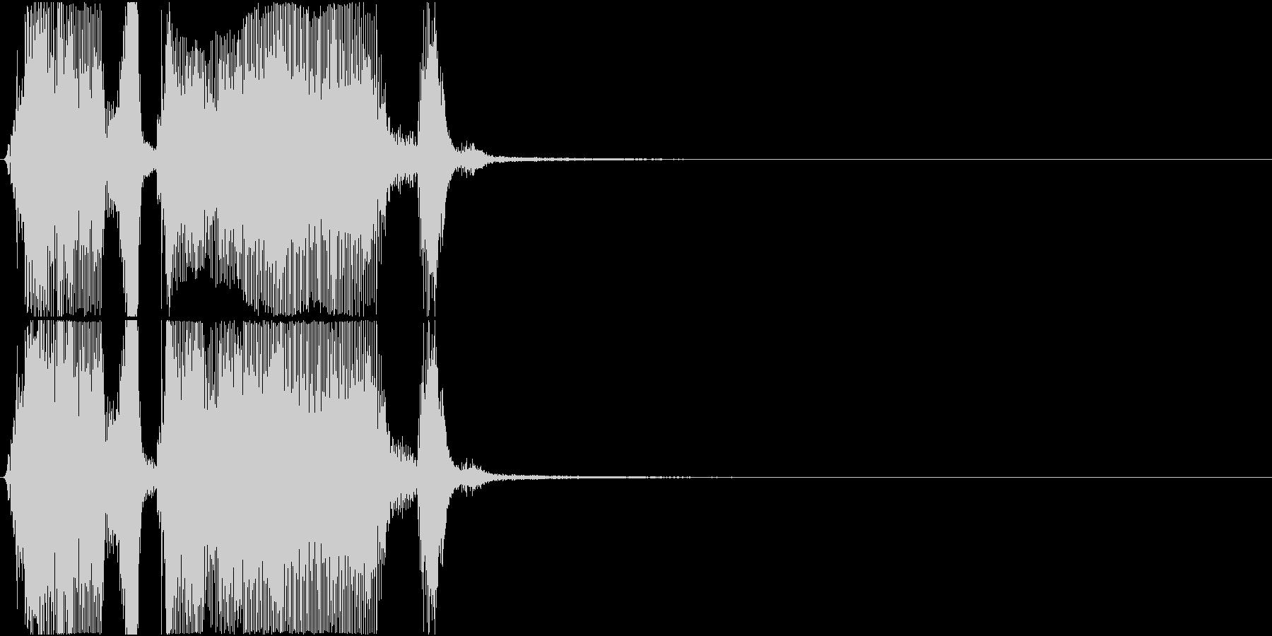 「ザッツグレート!」ゲーム・アプリ用の未再生の波形
