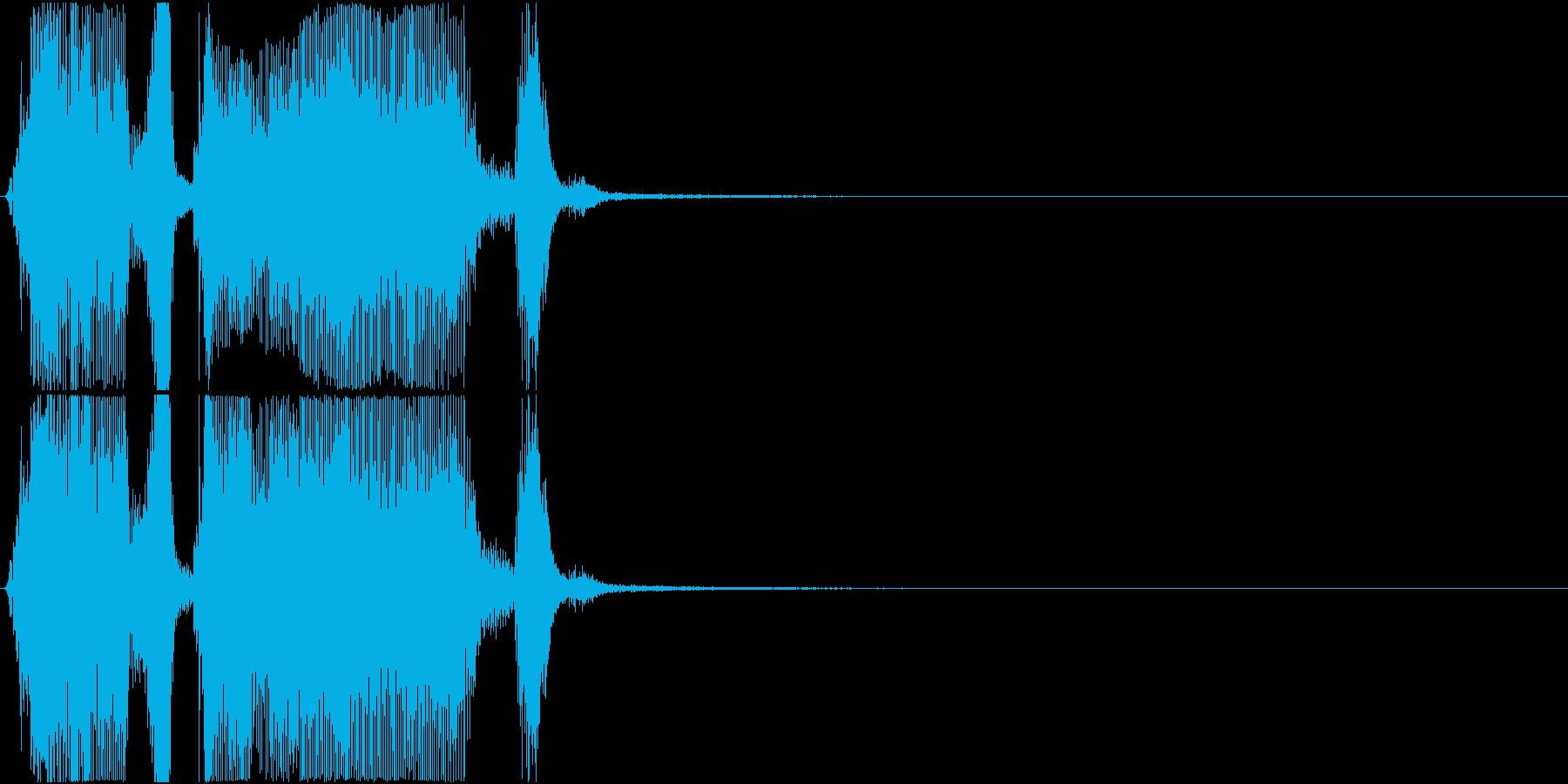 「ザッツグレート!」ゲーム・アプリ用の再生済みの波形