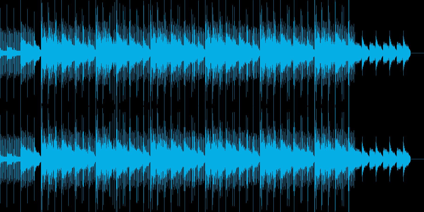 リラックスして聞けるヒップホップの再生済みの波形