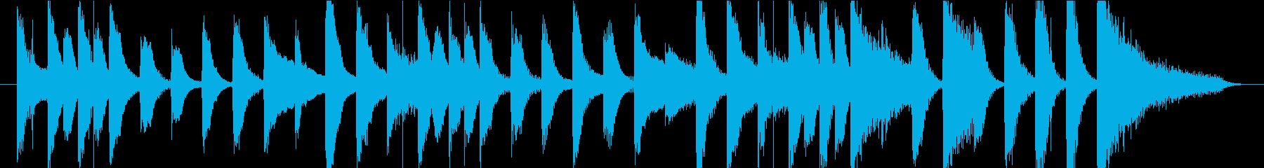 15秒CMの11 家庭用品 かわいいの再生済みの波形
