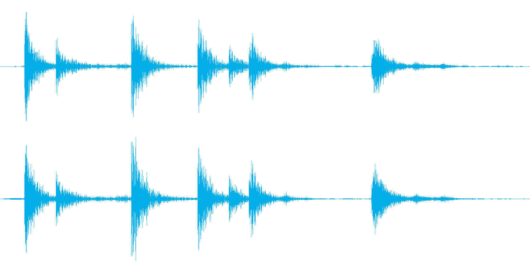 賽銭箱の再生済みの波形