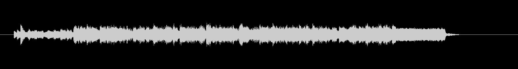 弦とピアノの重厚な響きの未再生の波形