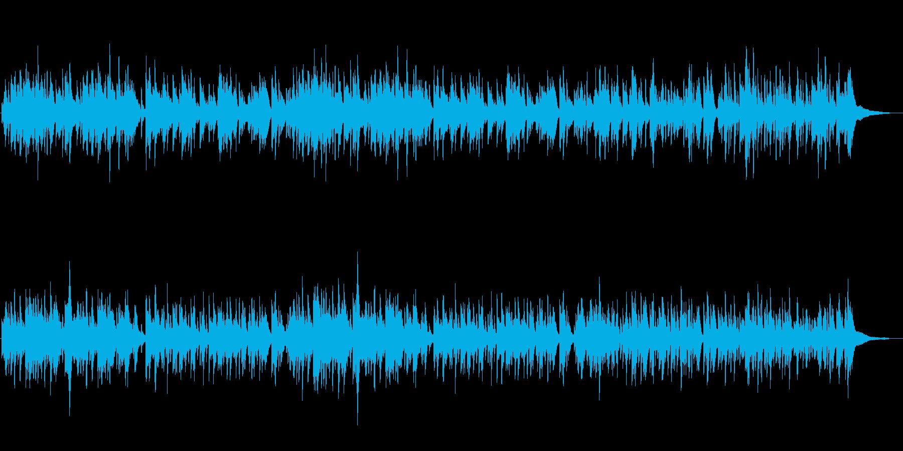 ちょっぴり切ないピアノ曲の再生済みの波形
