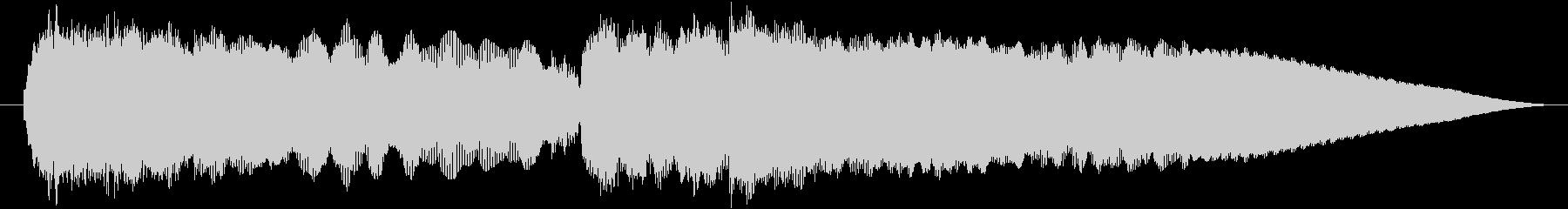 ベートーヴェン 5番 運命 エレキギターの未再生の波形