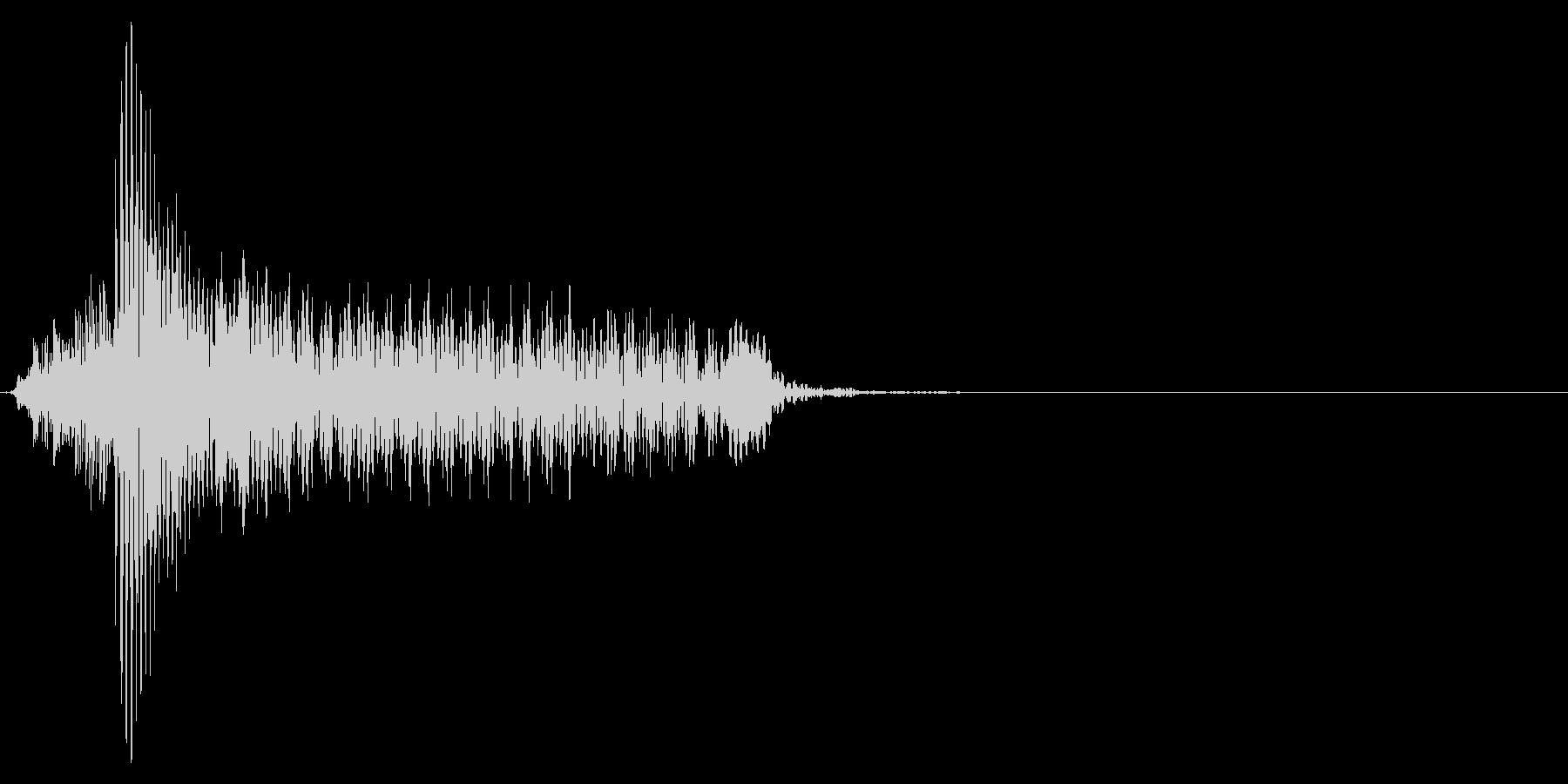 ゲーム掛け声男1ハー1の未再生の波形