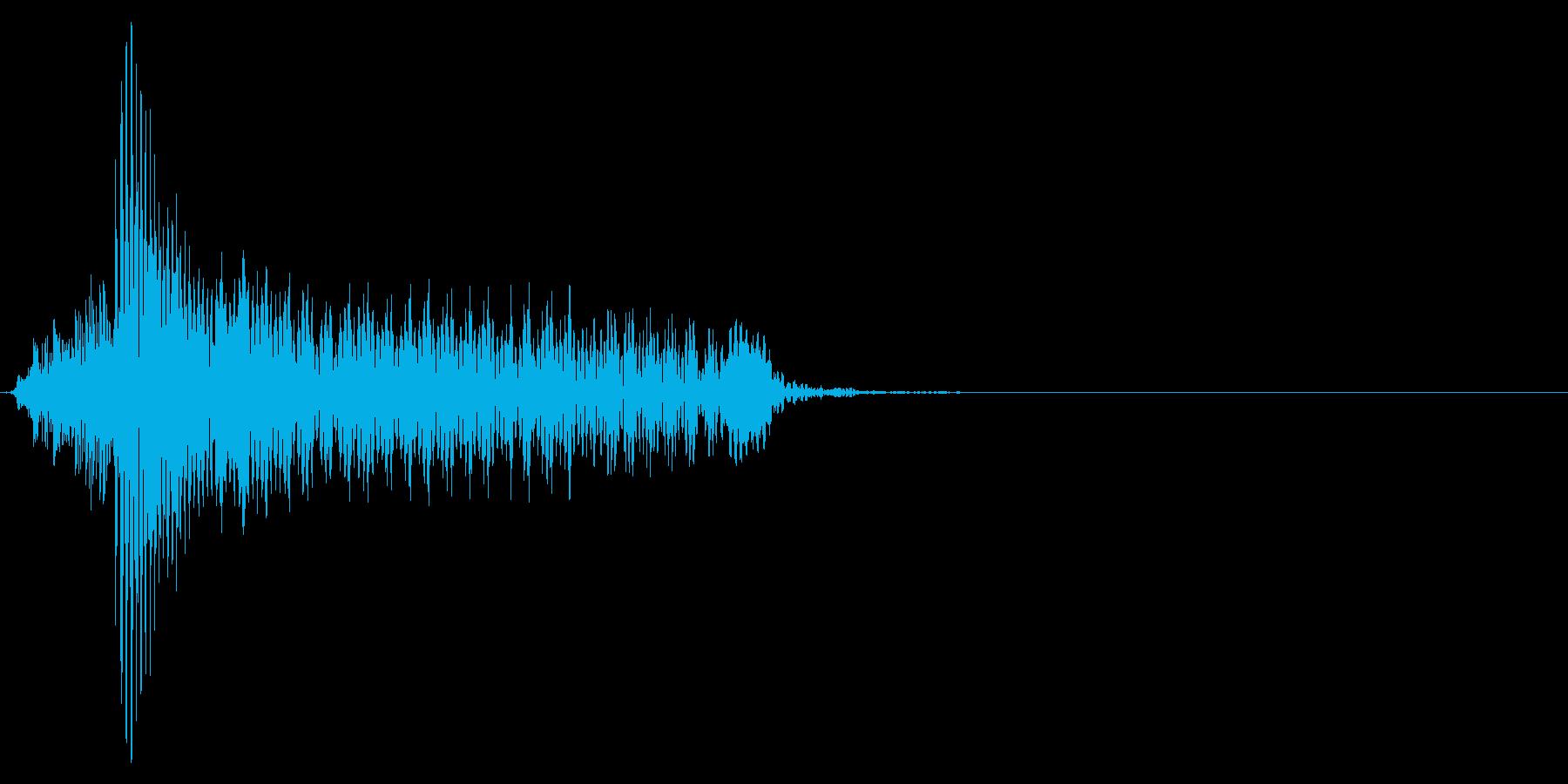 ゲーム掛け声男1ハー1の再生済みの波形