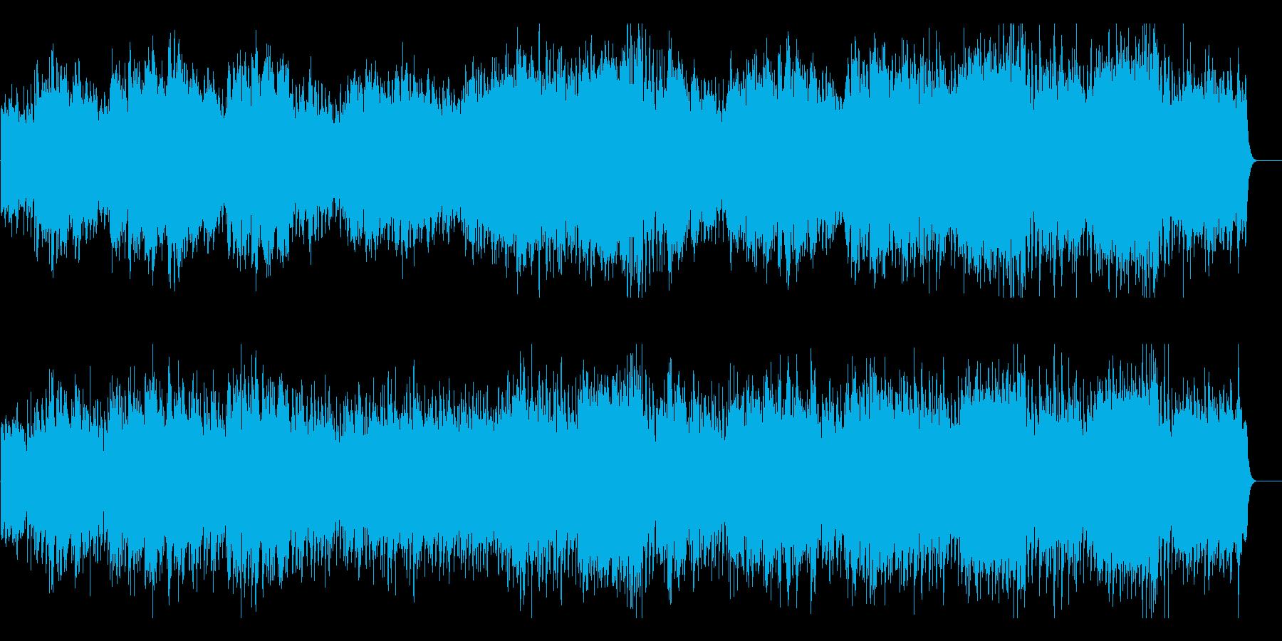 クリスマス メルヘン かわいい 優しいの再生済みの波形