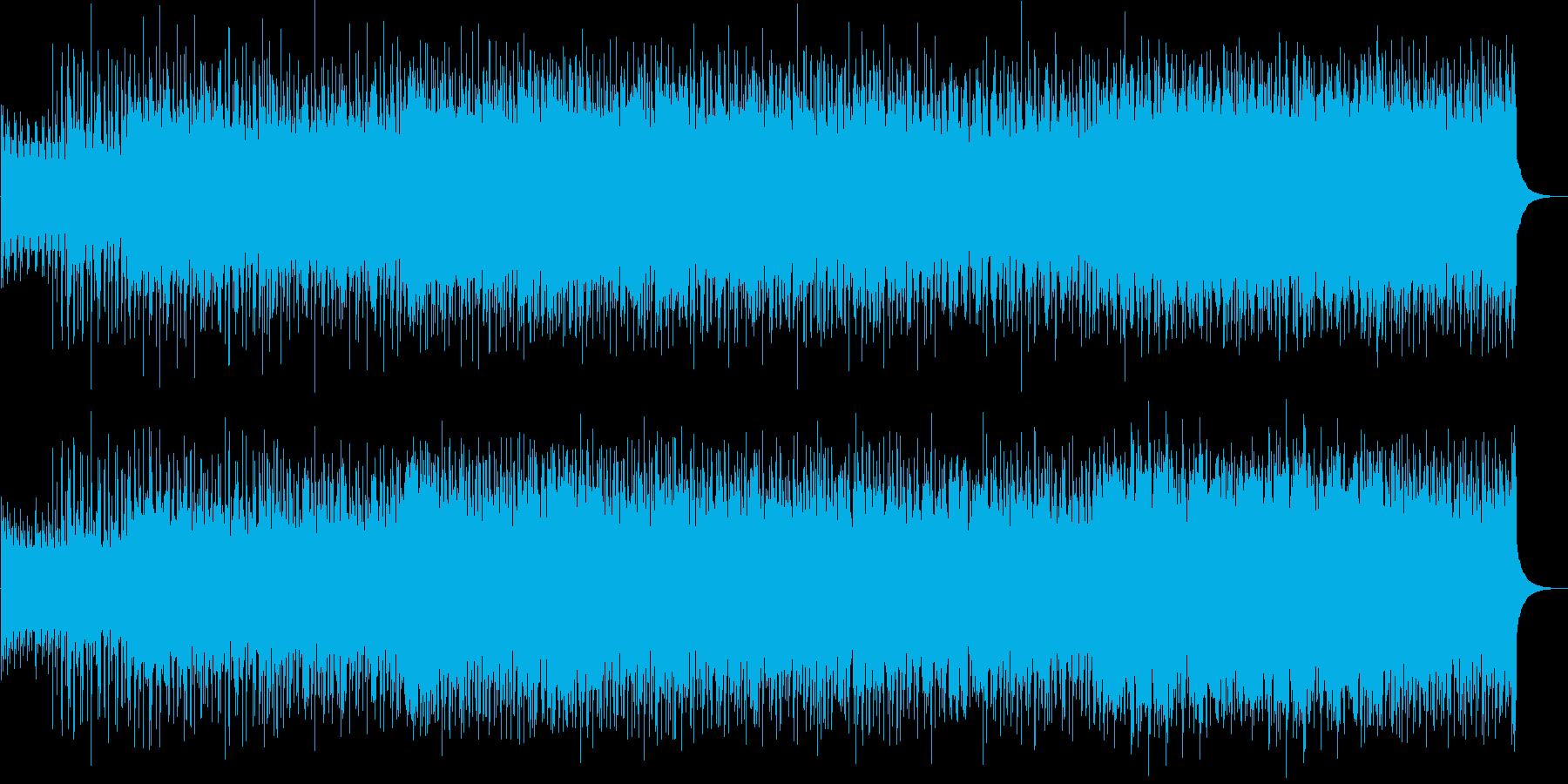 力強い疾走感のあるストリングスロックの再生済みの波形