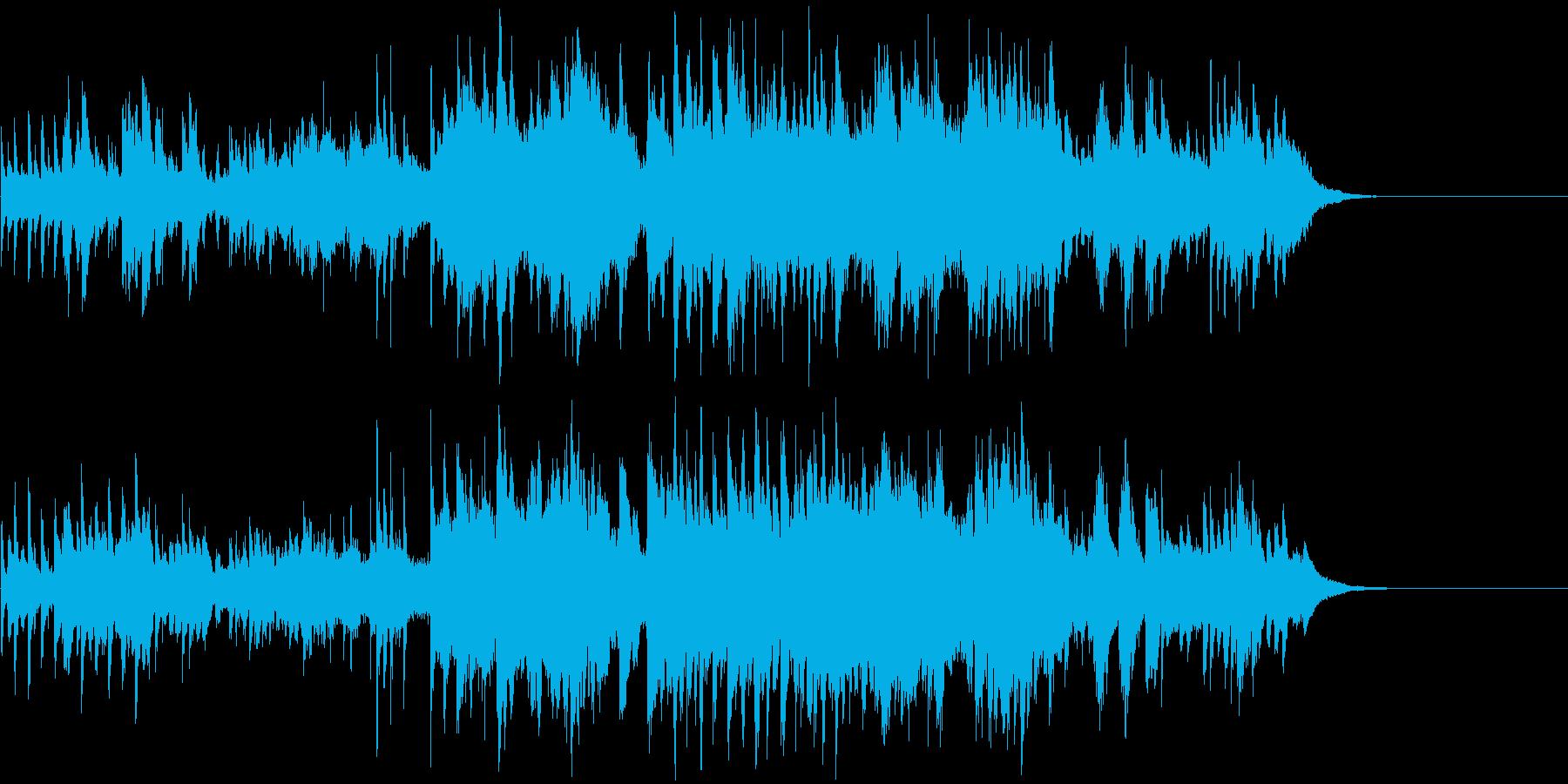 ほのぼのしたピアノクァルテットの再生済みの波形