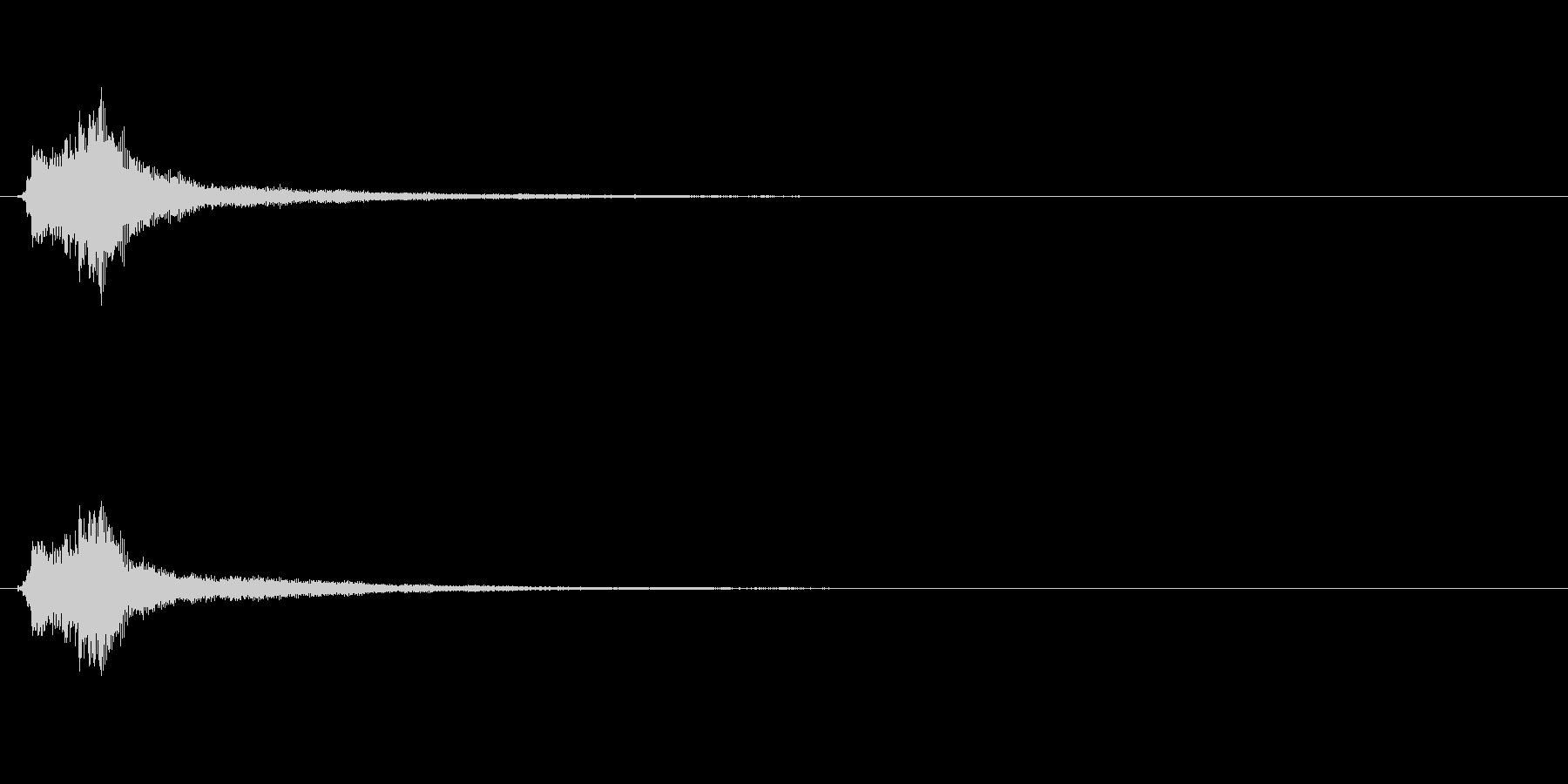 キラキラ系_014の未再生の波形