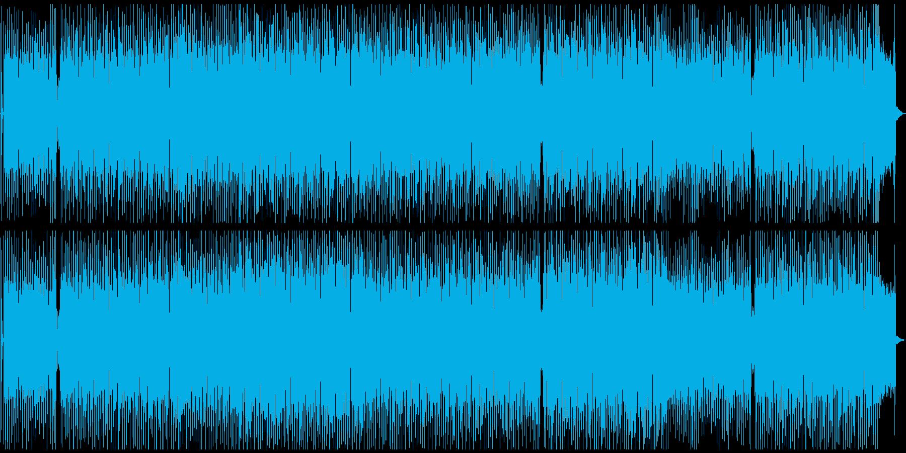 ギターロック・ポジティブ・アップテンポの再生済みの波形