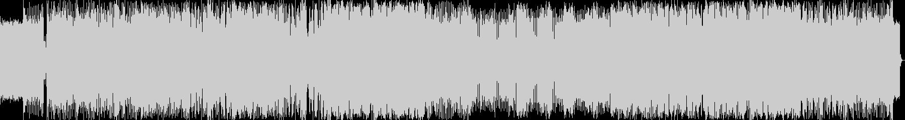 エレクトロハウスをイメージした楽曲です。の未再生の波形
