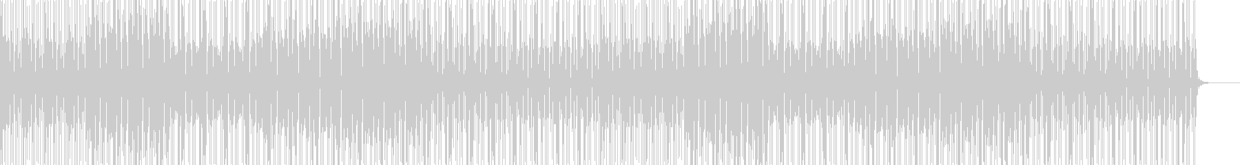 R&Bの未再生の波形