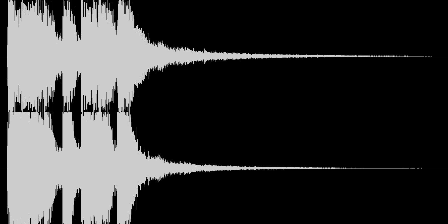 レベルアップやクリア時のSEの未再生の波形