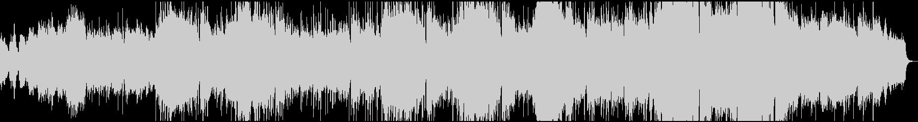 シベリウスのフィンランディアから平和の歌の未再生の波形
