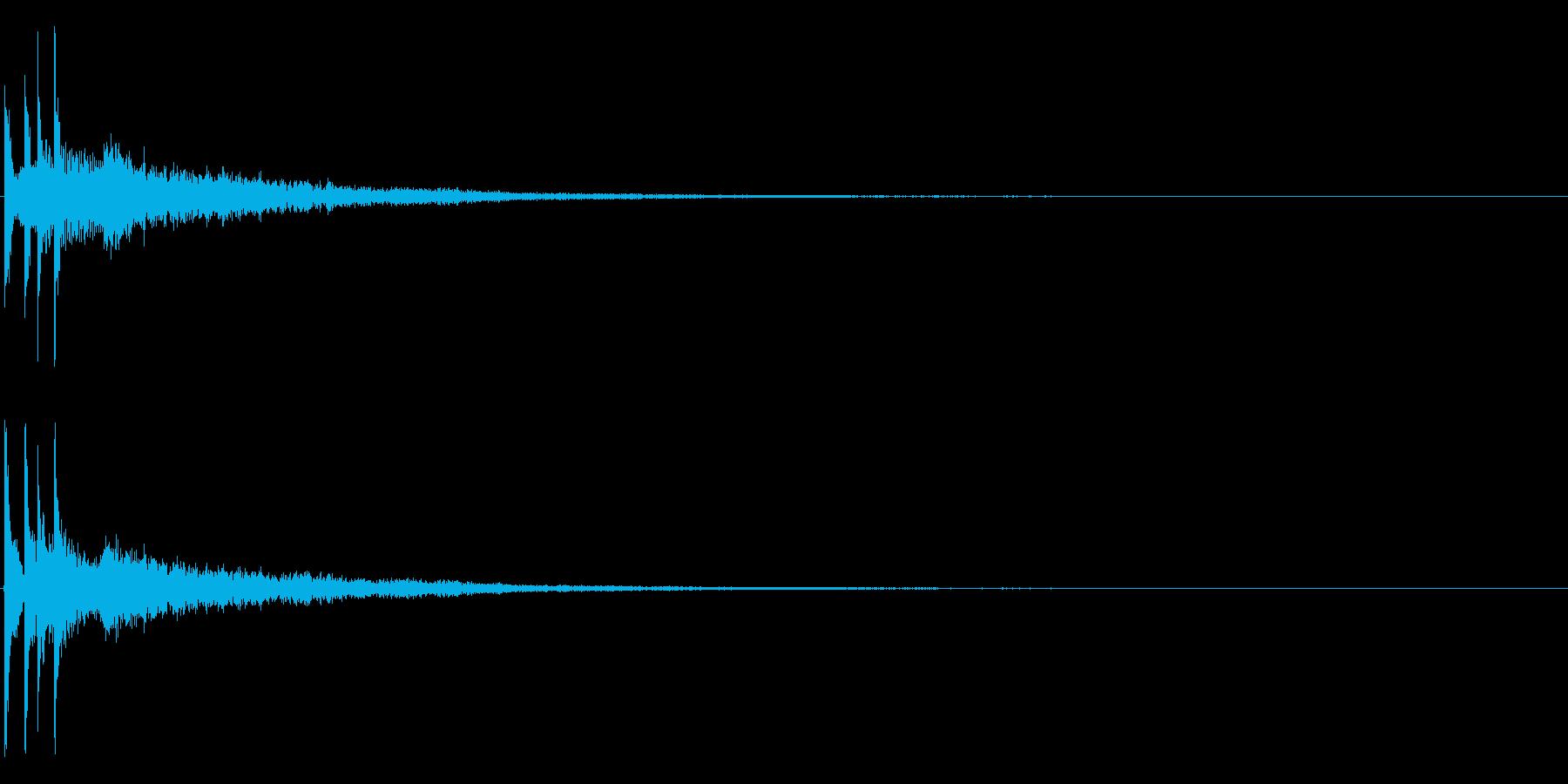 ティロンーの再生済みの波形