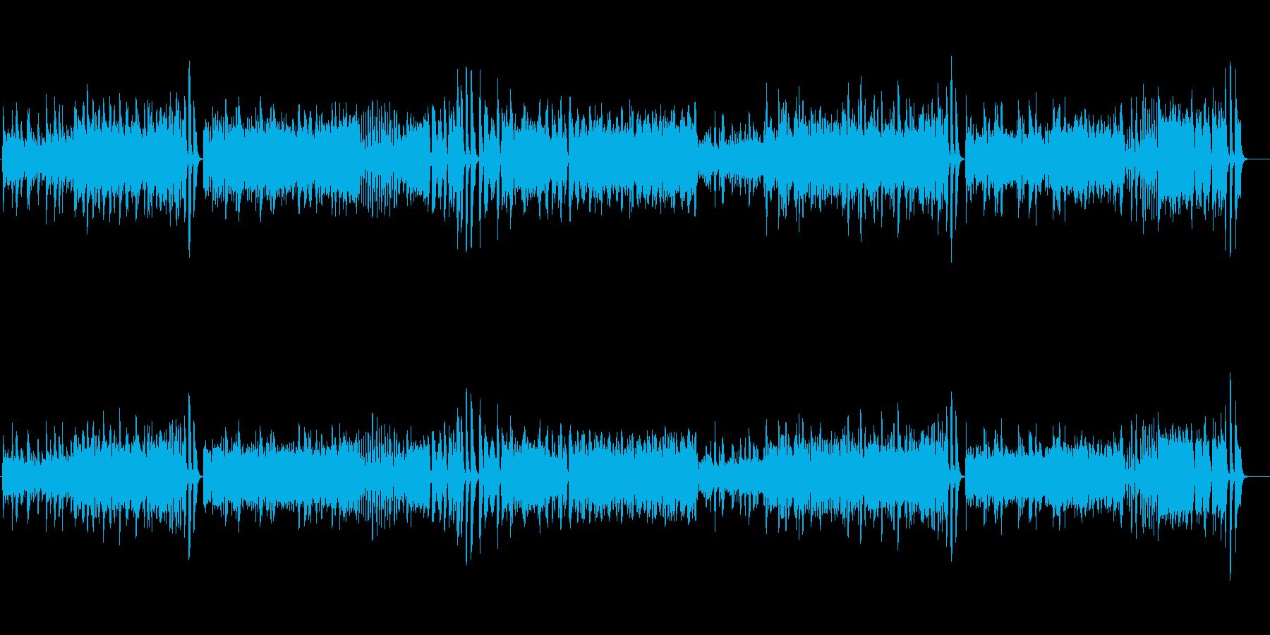 モーツァルトのピアノソナタをピアノ演奏での再生済みの波形