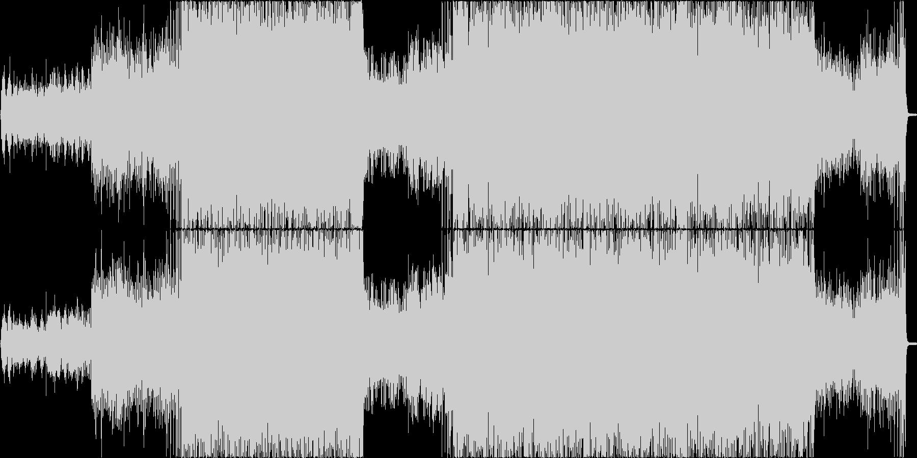幻想的な曲。の未再生の波形