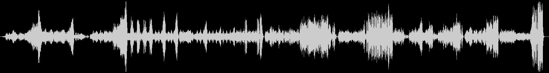 『美しく青きドナウ』 オーケストラの未再生の波形