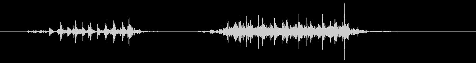 黒電話 ハードウェア01-2(ダイヤル)の未再生の波形