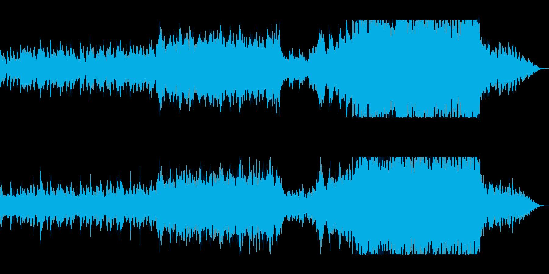 壮大なデジタル・オーケストラサウンドの再生済みの波形