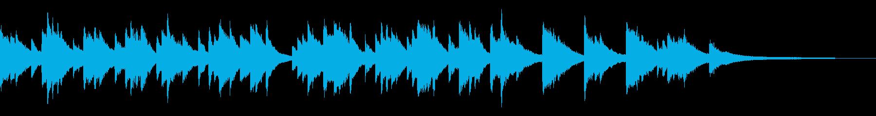 メロディアスで哀愁のあるピアノ曲です。の再生済みの波形