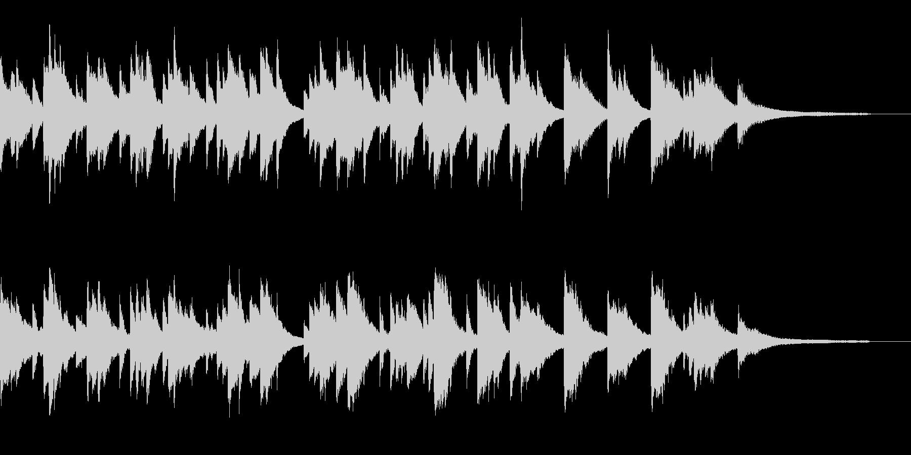 メロディアスで哀愁のあるピアノ曲です。の未再生の波形