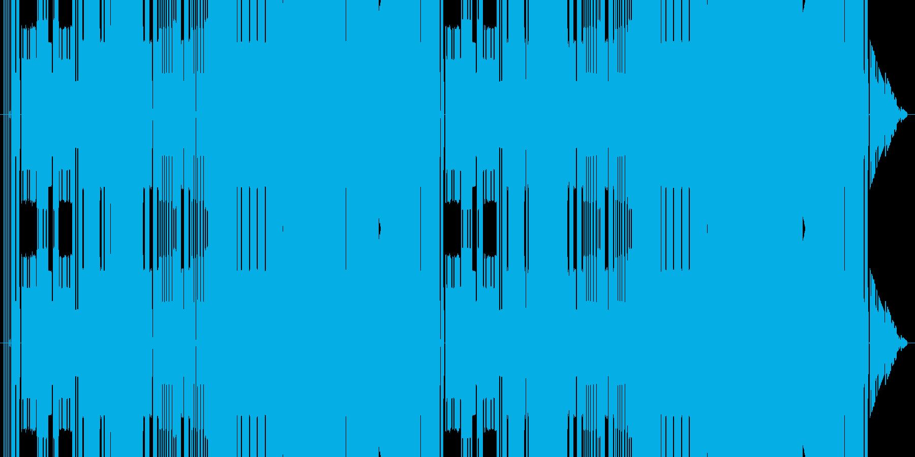 昔のファミコン同様、3和音でステージっ…の再生済みの波形