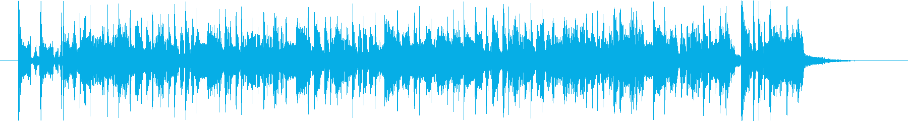 Lo-Fiサウンドなボサノバの再生済みの波形