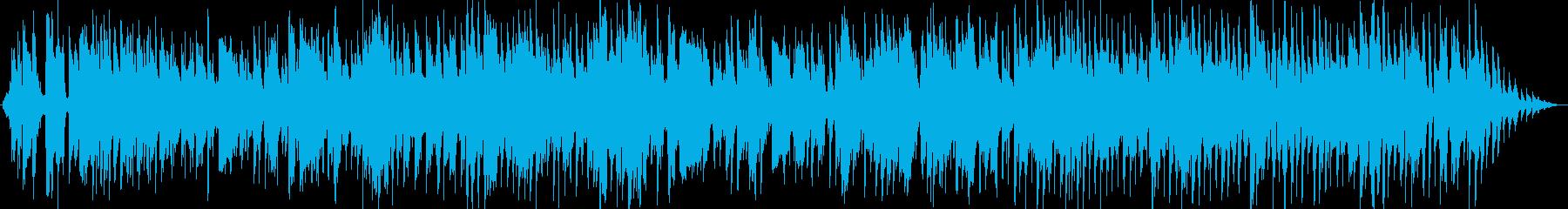 落ち着いた雰囲気のスウィングジャズの再生済みの波形