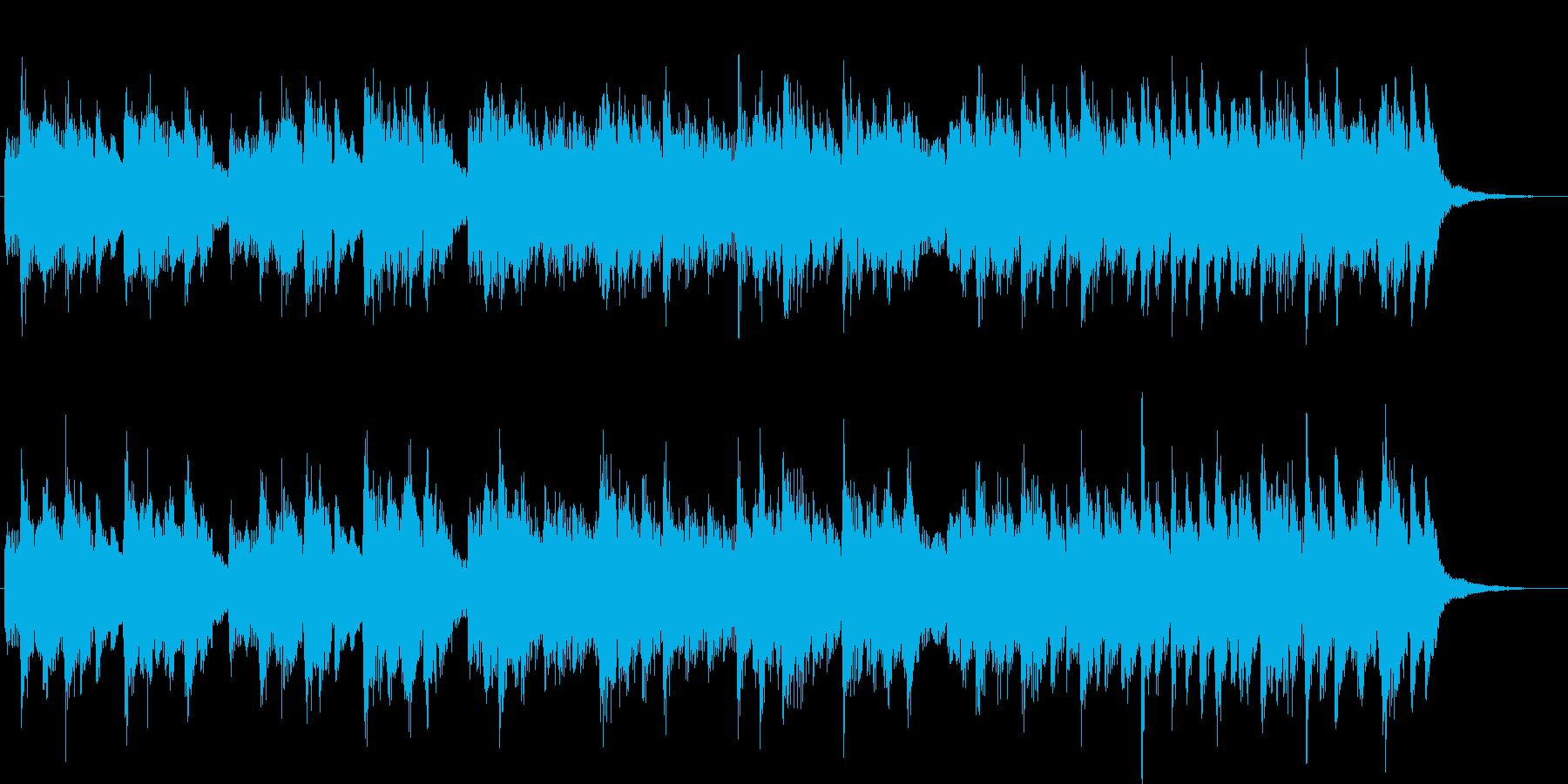 4ビートジャズのジングルの再生済みの波形