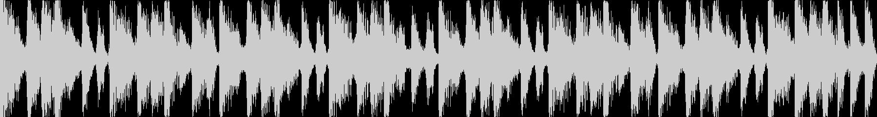 【ループC】ファンキーなブレイクビーツの未再生の波形