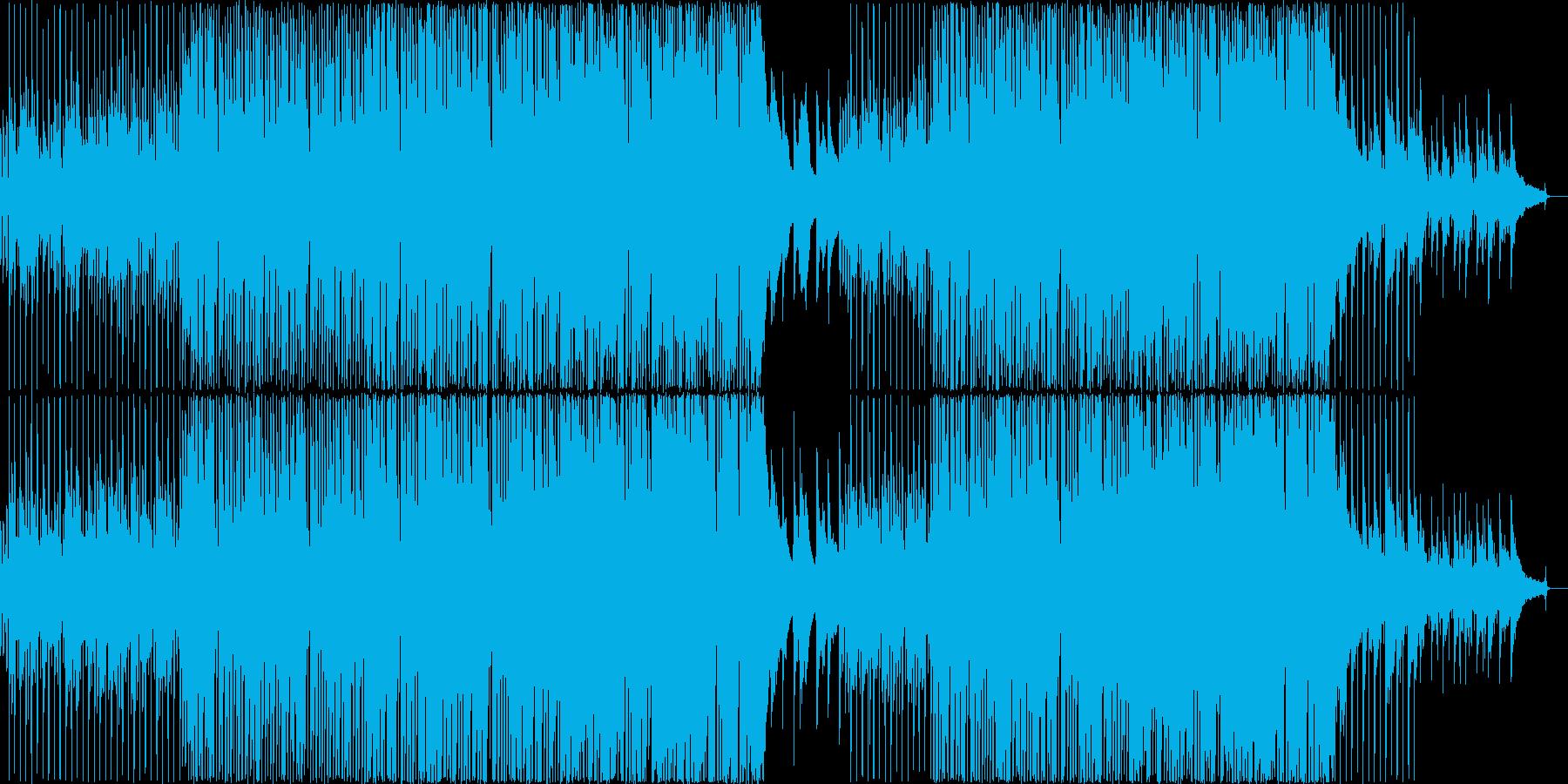 アップテンポほんわかコンセプトムービー風の再生済みの波形