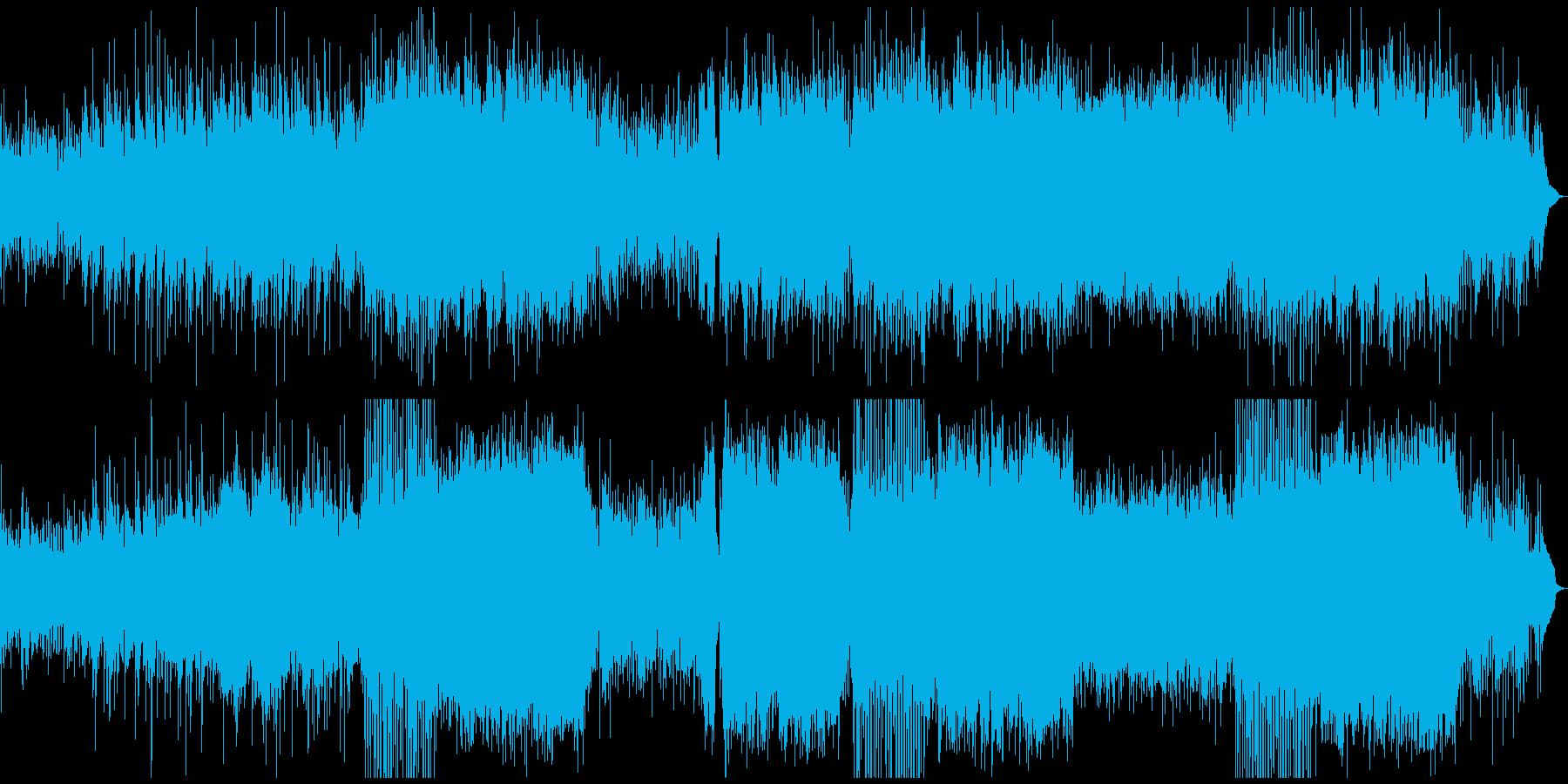 ノスタルジックなお洒落ジェットストリームの再生済みの波形