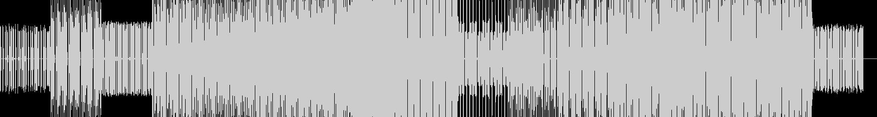コンピューター的なエレクトロニカの未再生の波形