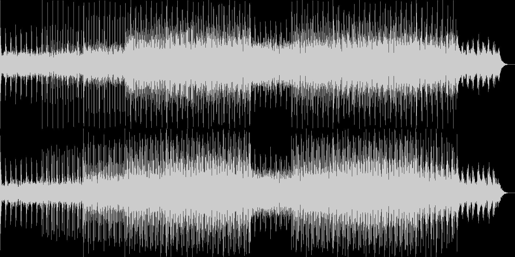 ニュース映像ナレーションバック向け-10の未再生の波形