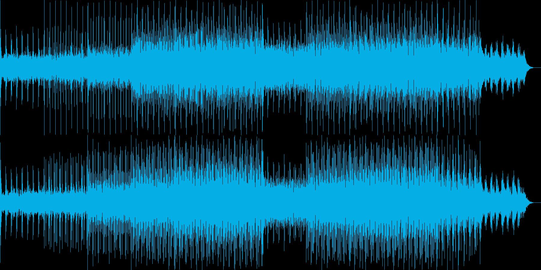 ニュース映像ナレーションバック向け-10の再生済みの波形