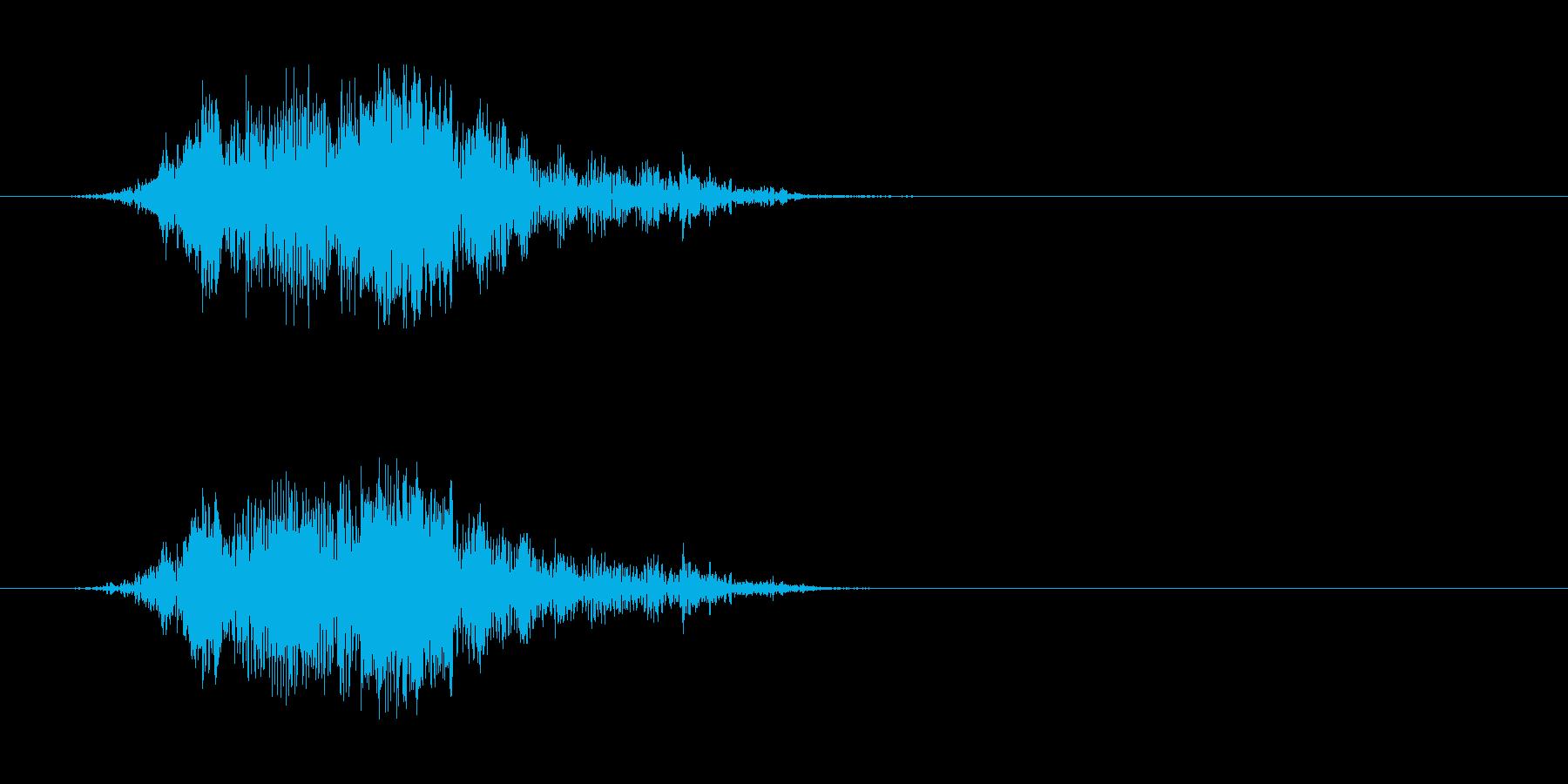 モンスターの発声 6の再生済みの波形