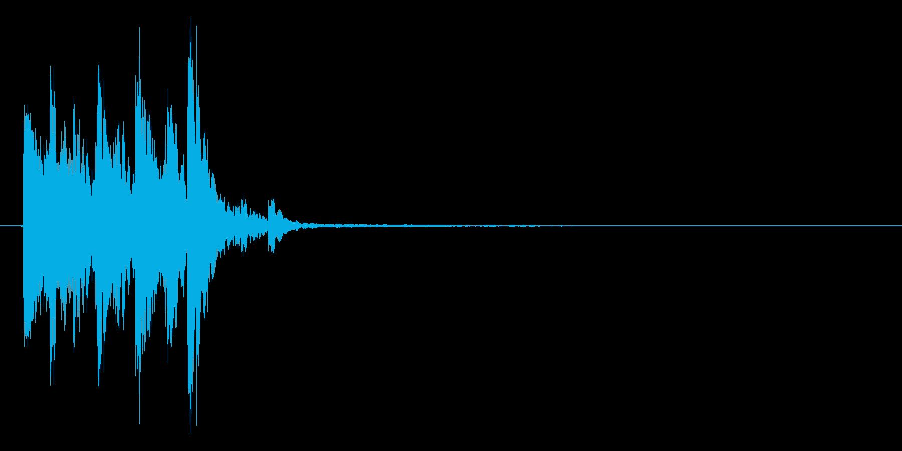 チャリッ(金貨、コイン)の再生済みの波形