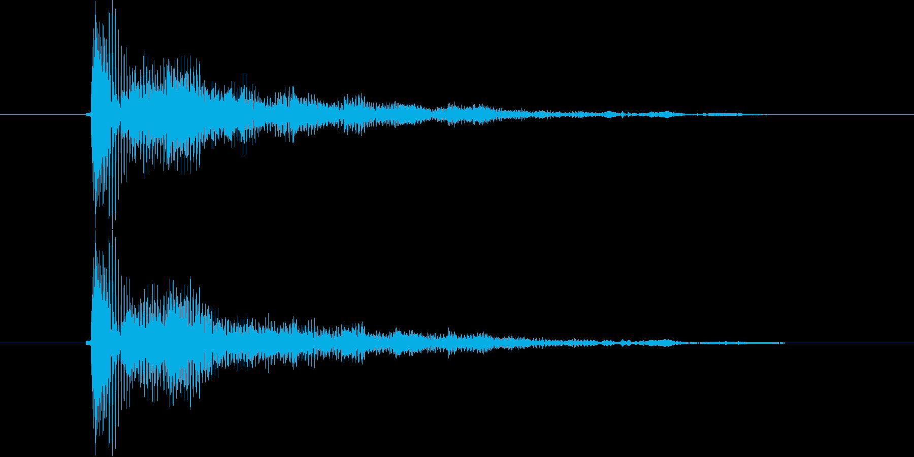 口琴6 ぼよよよ~ん高音 コントの再生済みの波形