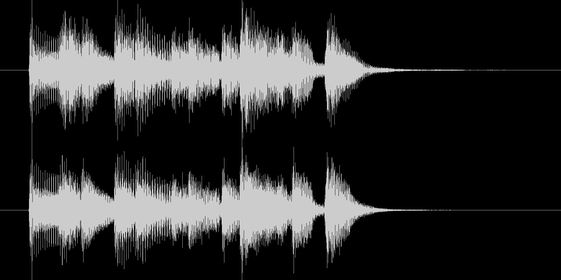 ジングル(ジャジー3)の未再生の波形