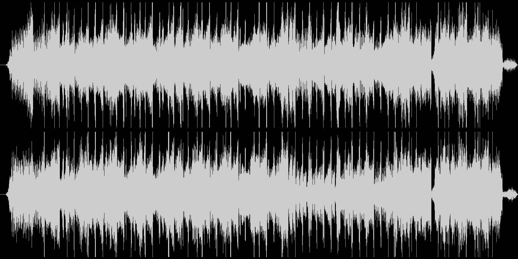 音楽の逆再生を早送り(逆回転巻き戻し)の未再生の波形