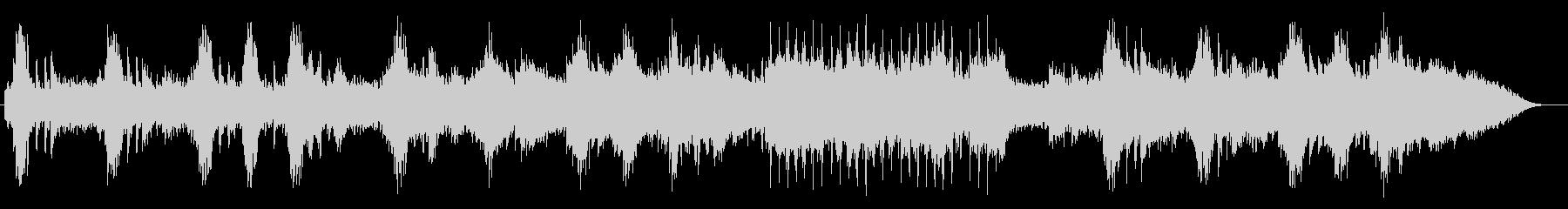 ゆったり壮大ピアノシンセサイザーサウンドの未再生の波形