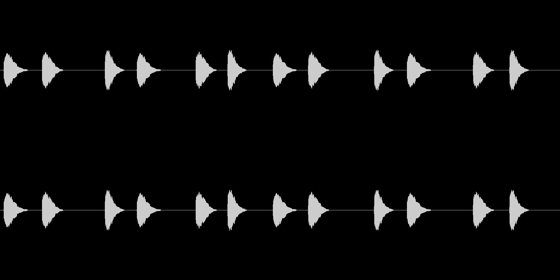 【カラス 合成01-3】の未再生の波形
