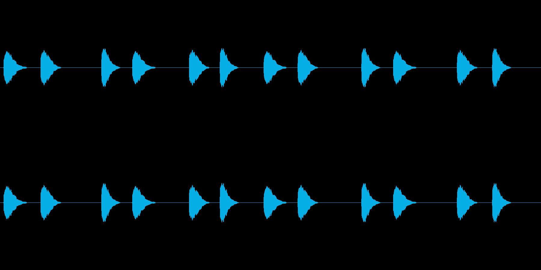 【カラス 合成01-3】の再生済みの波形