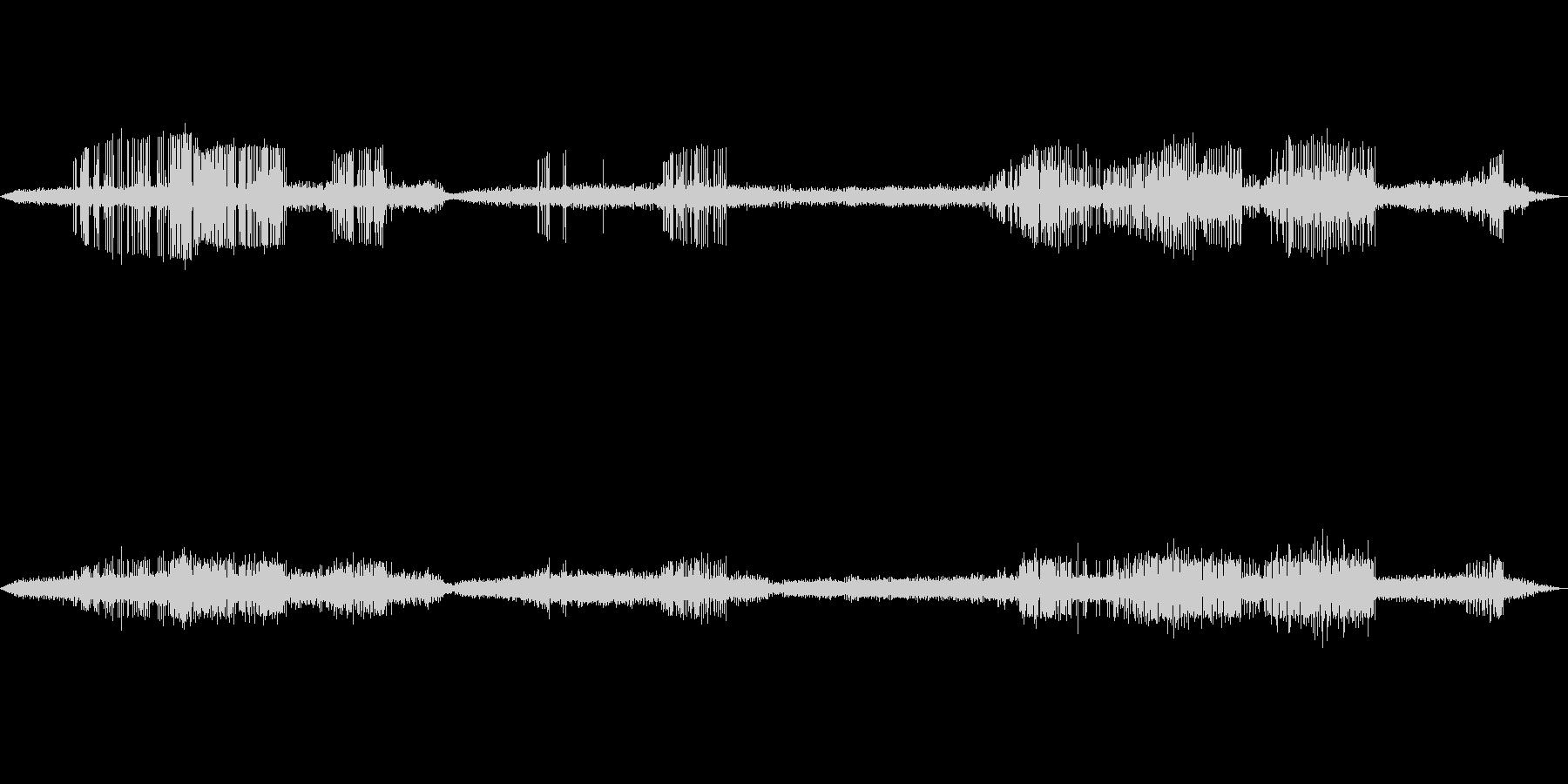 【自然音】カエルの鳴き声01(白州)の未再生の波形